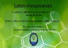 Lottery Announcement