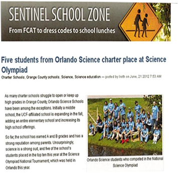 OSS in the Orlando Sentinel
